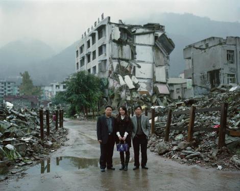 Turistas japoneses en el desastre de Fukushima