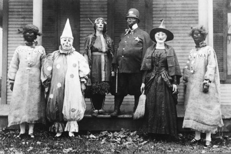 Halloween, principios del Siglo XX