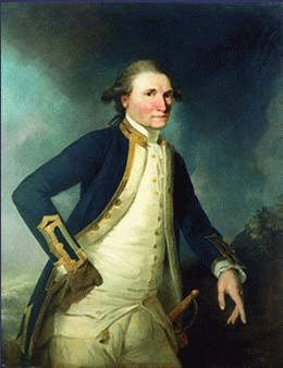 James Cook (Middlesbrough, 1728 - Hawái, 1779)