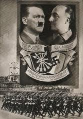Postal conmemorativa de la reunión entre los dos líderes