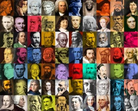 Algunos de los personajes más influyentes de la historia