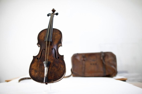 El violín de Wallace Hartley