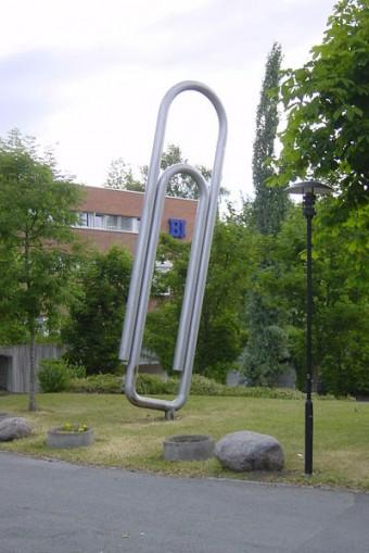 Monumento al clip, Oslo