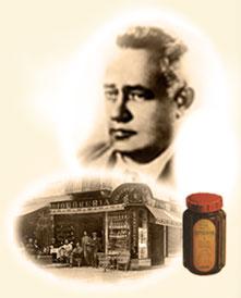 Pietro Ferrero y el envase original de lo que sería Nutella